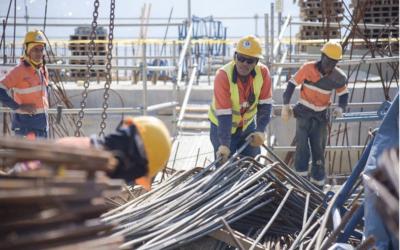 Camacol organizó horarios para trabajadores de la construcción