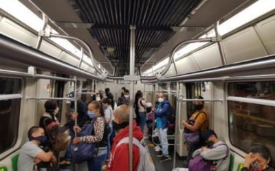 Modifican horarios del sector construcción para descongestionar el Metro de Medellín