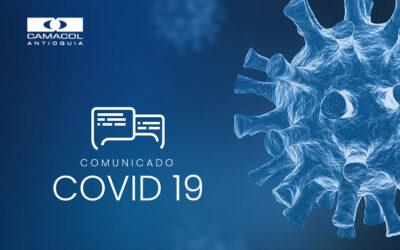 Comunicados de nuestras empresas afiliadas ante la contingencia del Covid 19